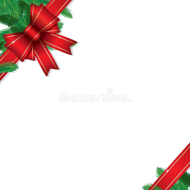 Bordo del regalo di natale illustrazione vettoriale