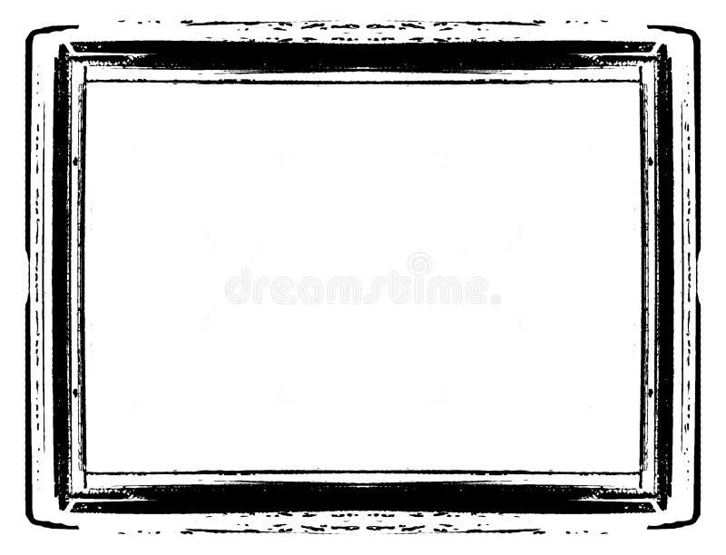 Bordo dell'annata illustrazione di stock