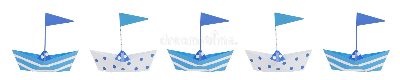 Bordo della barca del neonato royalty illustrazione gratis
