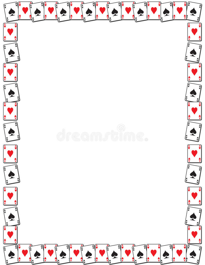 Bordo della scheda di gioco illustrazione vettoriale