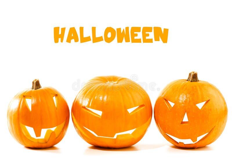Bordo della zucca di Halloween fotografie stock libere da diritti