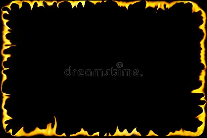 Bordo delle fiamme royalty illustrazione gratis