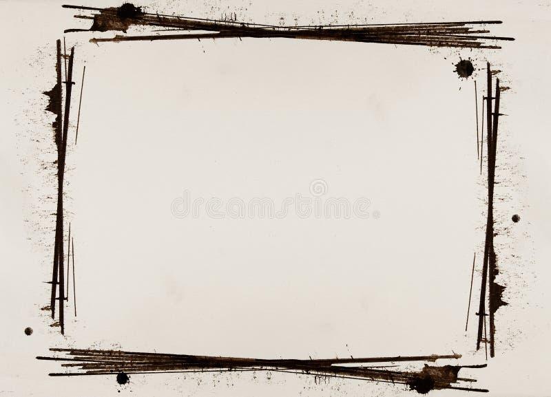 Bordo di Grunge illustrazione di stock