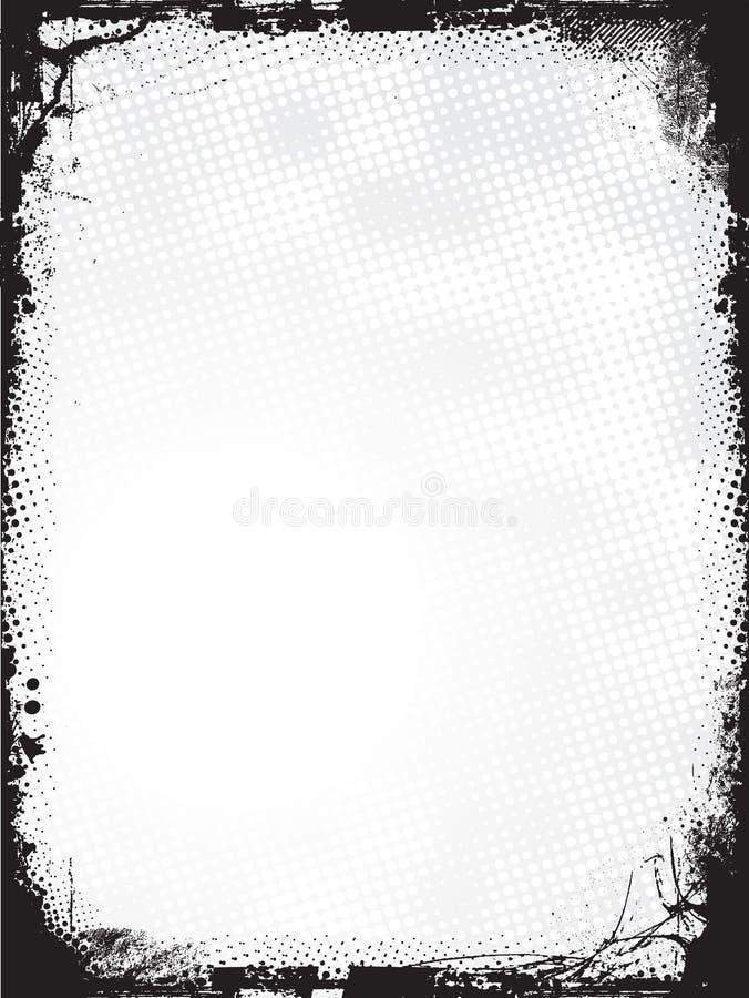 Bordo di Grunge - vettore royalty illustrazione gratis