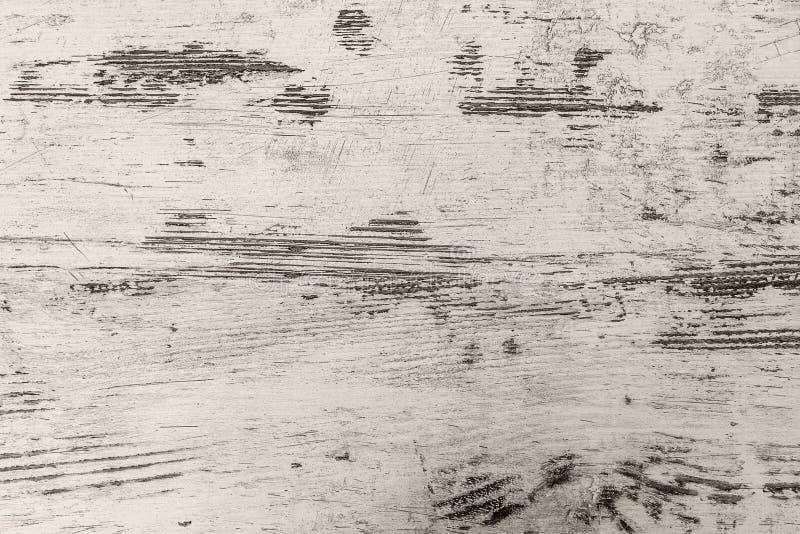 Bordo di legno bianco con struttura come fondo immagine stock