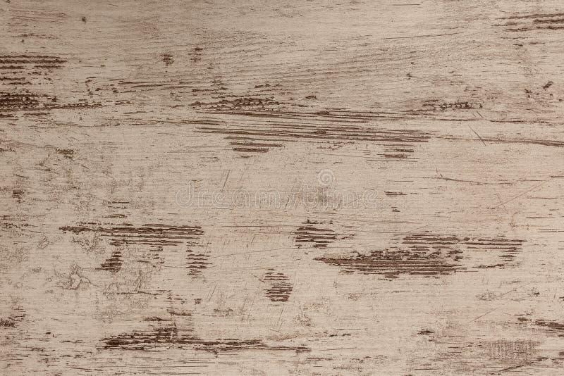 Bordo di legno di Brown con struttura come fondo fotografie stock