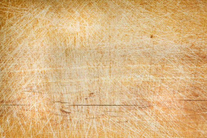 Bordo di legno dello scrittorio di taglio di vecchio lerciume fotografie stock