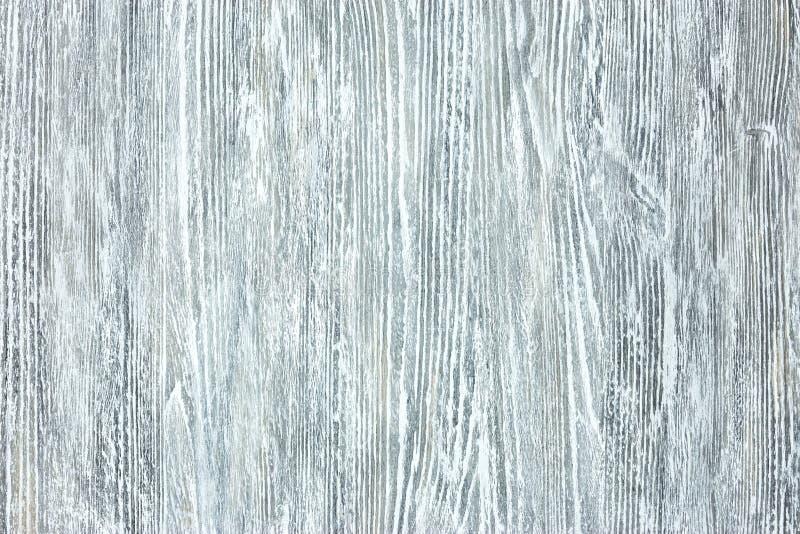 Bordo di legno dipinto Grey con il modello naturale fotografia stock