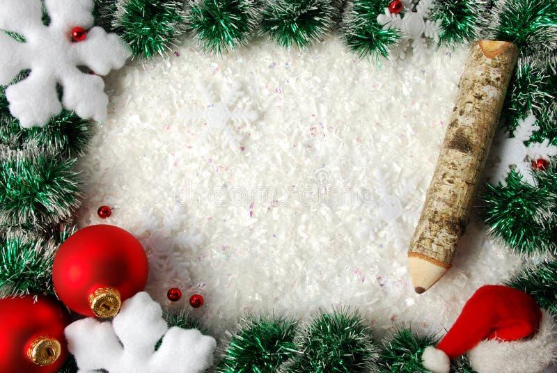 Download Bordo di natale immagine stock. Immagine di lucido, decorazioni - 7323381