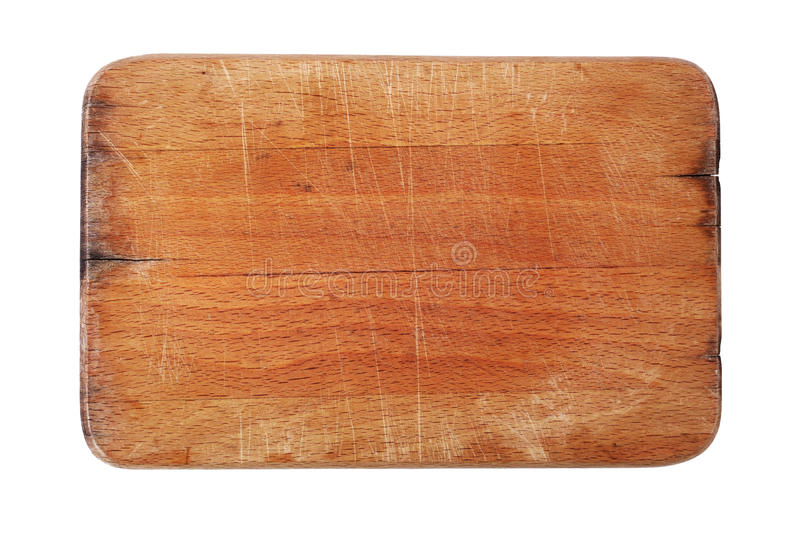 Bordo di taglio di legno immagine stock
