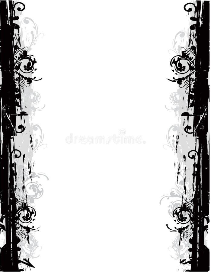 Download Bordo floreale illustrazione di stock. Illustrazione di floreale - 7305500