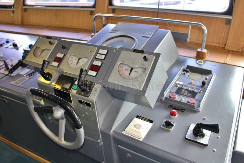 A bordo nos quebra-gelo em Luleå fotos de stock