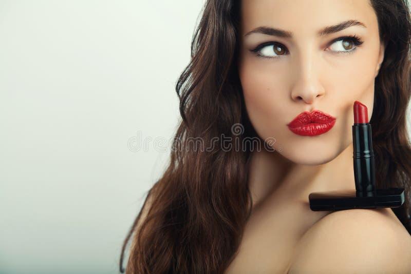 Bordos luxúrias vermelhos foto de stock