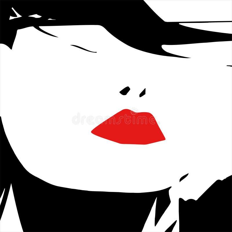 Bordos 'sexy' ilustração royalty free