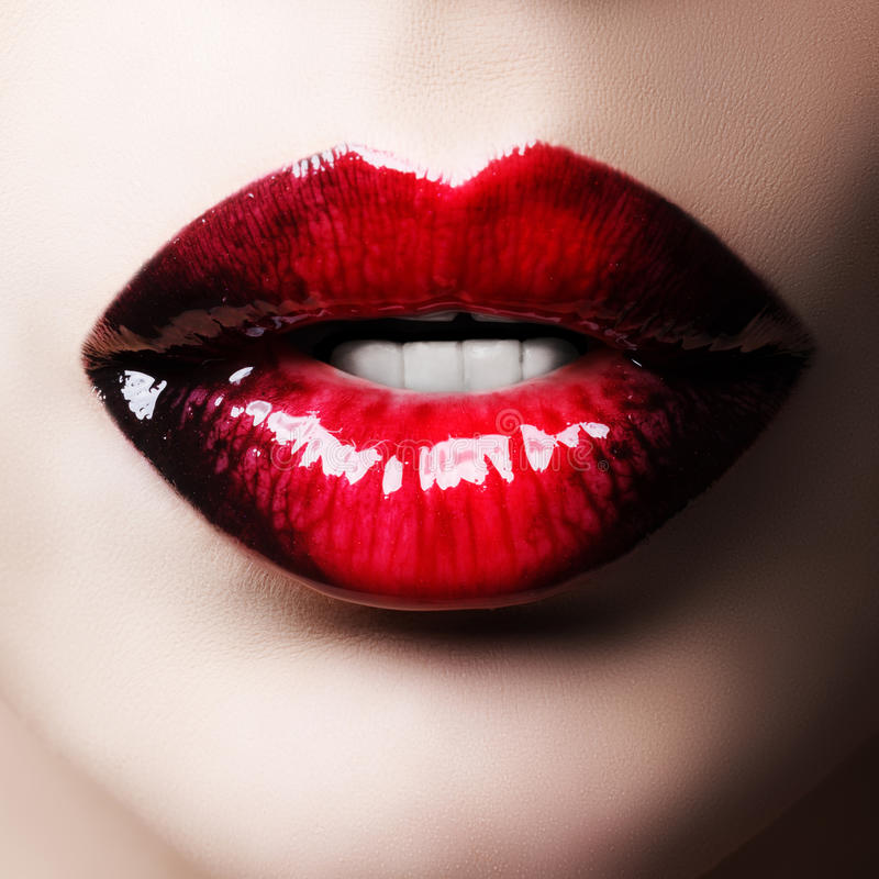 Bordos vermelhos apaixonado imagem de stock