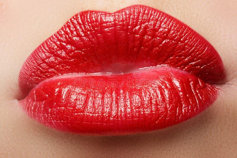 Bordos vermelhos apaixonado, fotografia macro foto de stock royalty free