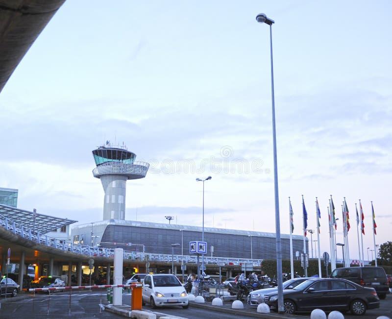 Bordoski Merignac lotnisko, Aquitaine, Francja fotografia stock