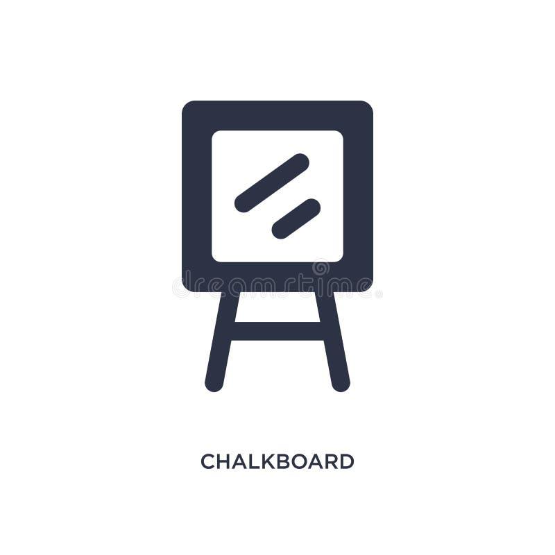 bordpictogram op witte achtergrond Eenvoudige elementenillustratie van onderwijs 2 concept stock illustratie