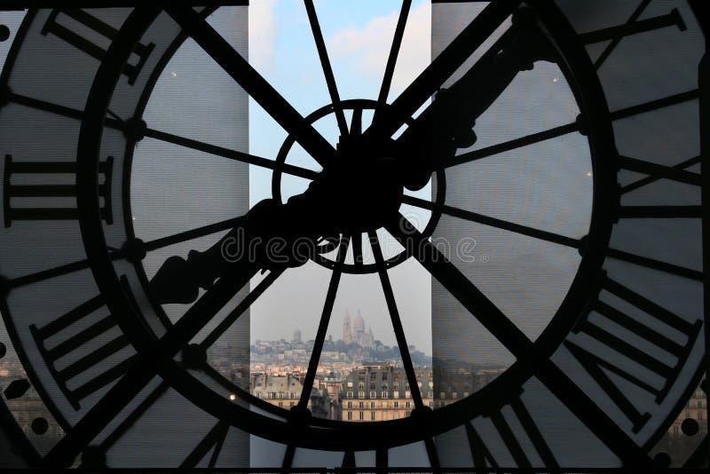 Borduhr Am Orsay Museum Lizenzfreies Stockbild