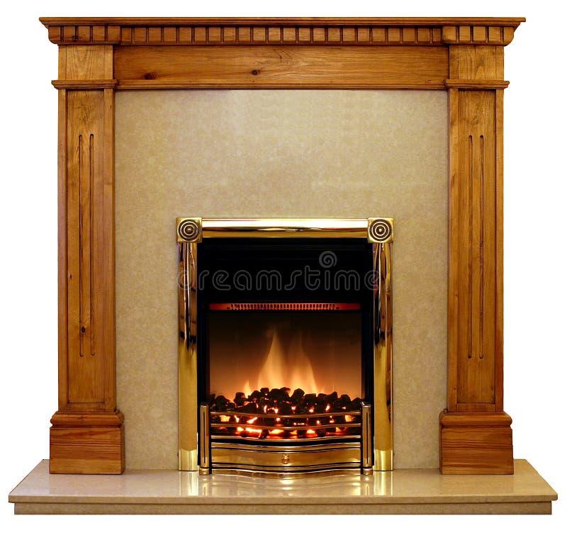 Bordure d'incendie de pin photos stock