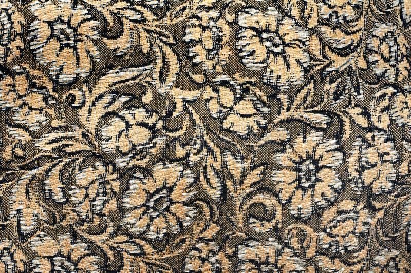 Borduurwerk op doek, textuur stock afbeeldingen