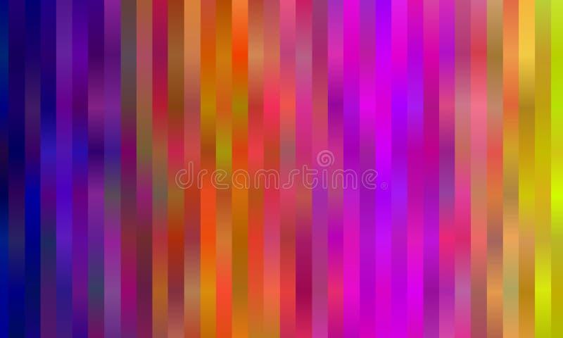 Borealis αυγής ουράνιων τόξων αφηρημένη ανασκόπηση ζωηρόχρωμη Φωτεινή ριγωτή διανυσματική απεικόνιση σχεδίων διανυσματική απεικόνιση