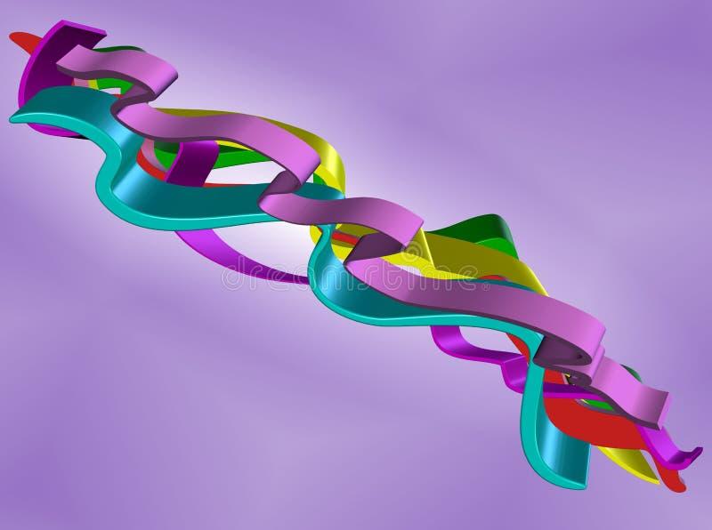 borealis abstraits illustration de vecteur