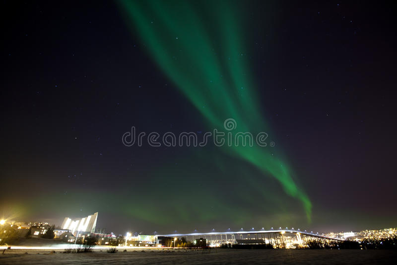 Borealis da Aurora imagens de stock royalty free
