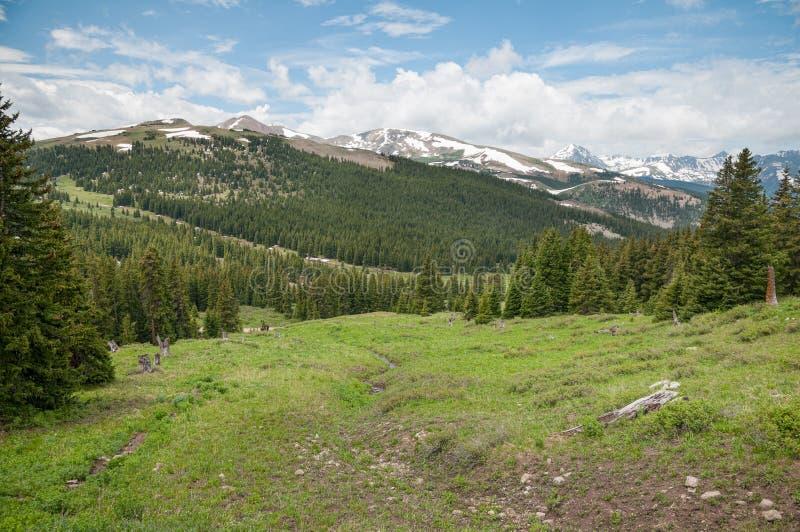 Boreas przepustka Kolorado obrazy royalty free