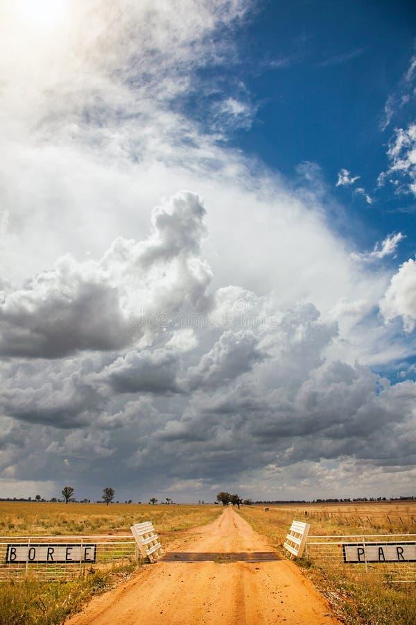 Boree公园在内地Dubbo的澳大利亚 库存图片