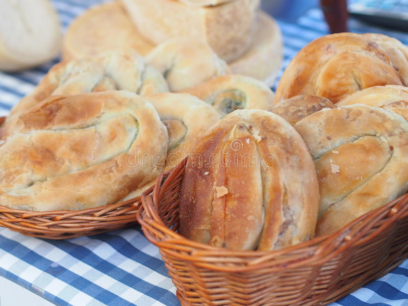 Boregi - traditional Turkish and Balkan specialty royalty free stock photography
