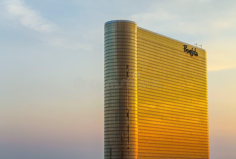 Borgata hotell och kasino som är nya - ärmlös tröja, USA royaltyfria bilder