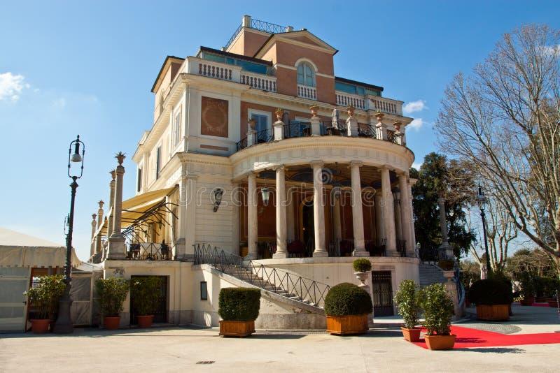 borghese italy rome villa royaltyfri bild