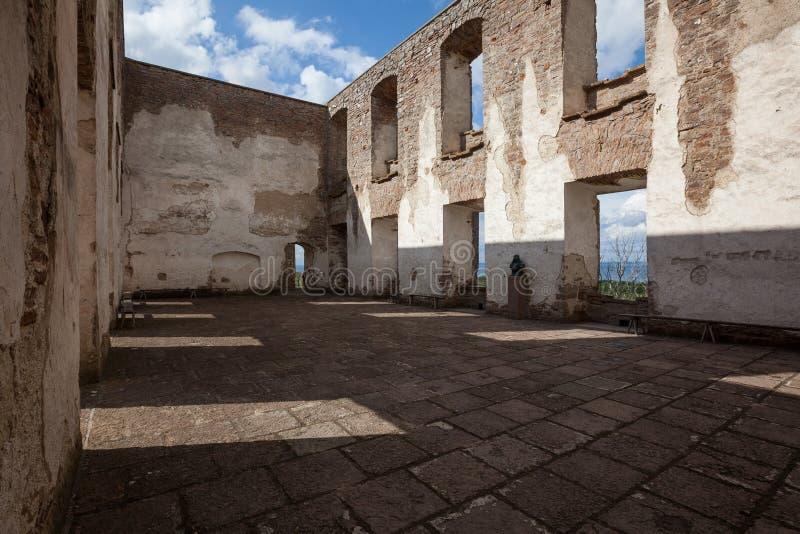 Borgholm Castle (Borgholm Slott). Öland, Sweden. The historic ruin in the beautiful island, Öland stock image