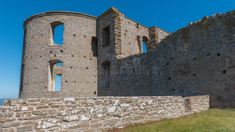 Borgholm castle. Photographed from the side stock images