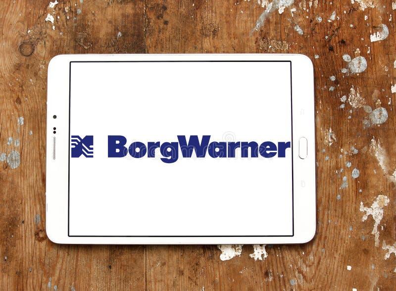 BorgWarner firmy logo zdjęcia stock