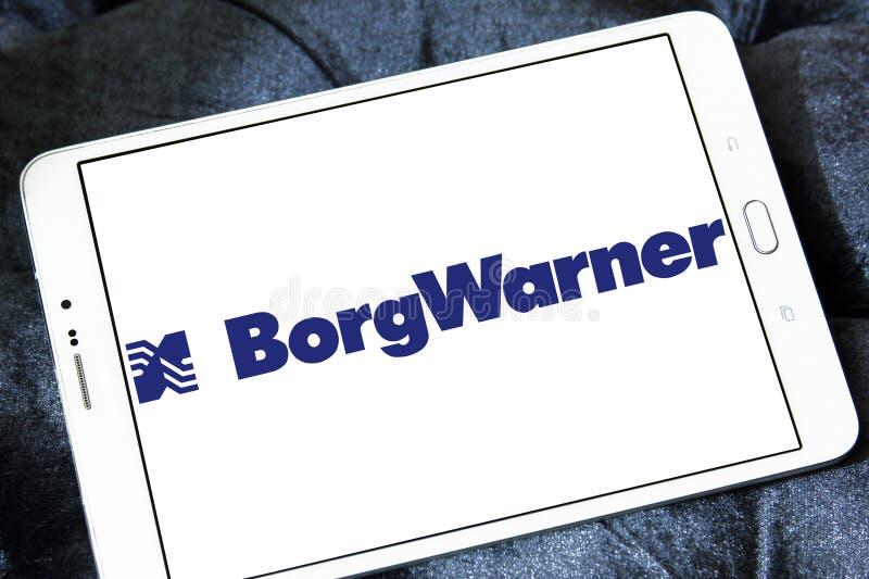 BorgWarner firmy logo obrazy stock