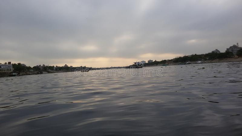 Borigonga河 库存照片