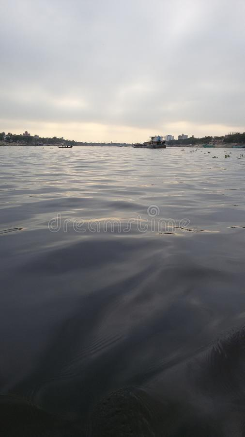 Borigonga河 免版税库存图片