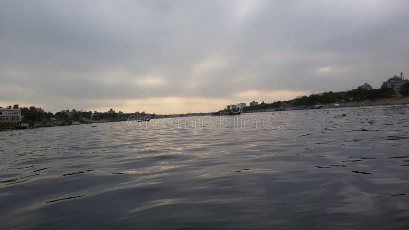 Borigonga flod arkivfoton