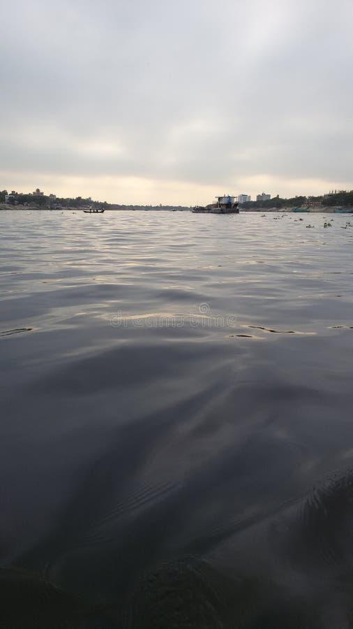 Borigonga flod royaltyfri bild