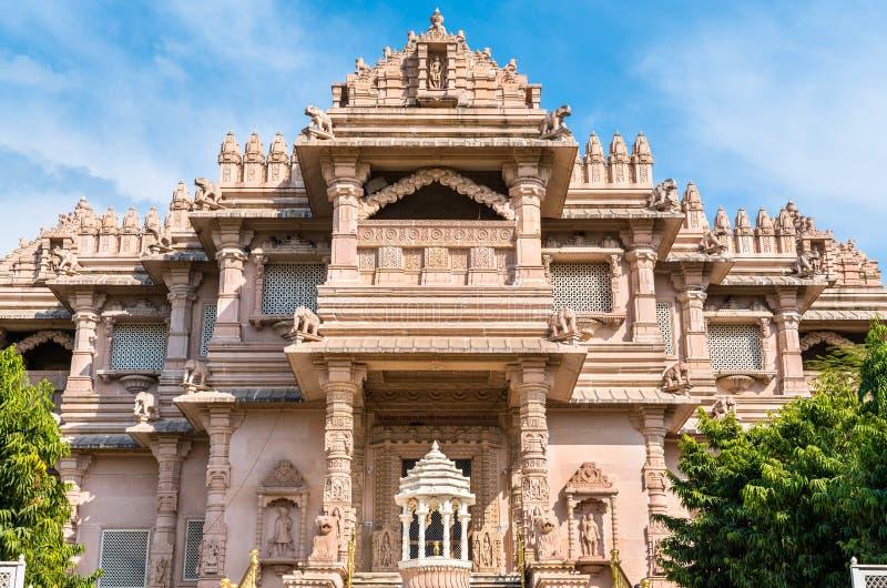 Borij Derasar, ein Jain Tempel in Gandhinagar - Gujarat, Indien lizenzfreie stockbilder