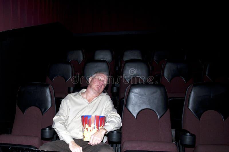 Boring Movie stock image
