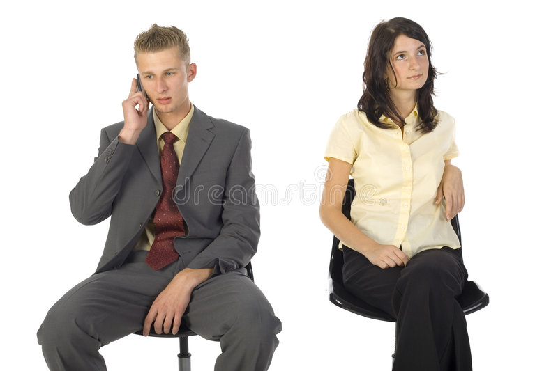 Boring office stock photography