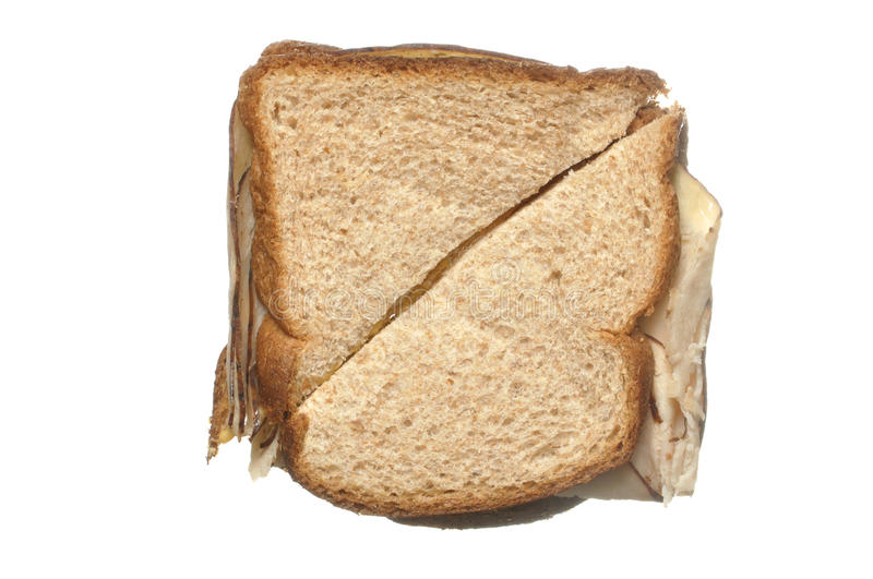 Boring sandwich royalty free stock images