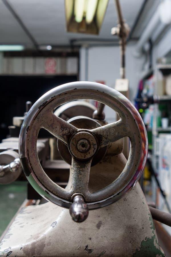 boringsmachine in een workshop royalty-vrije stock foto's