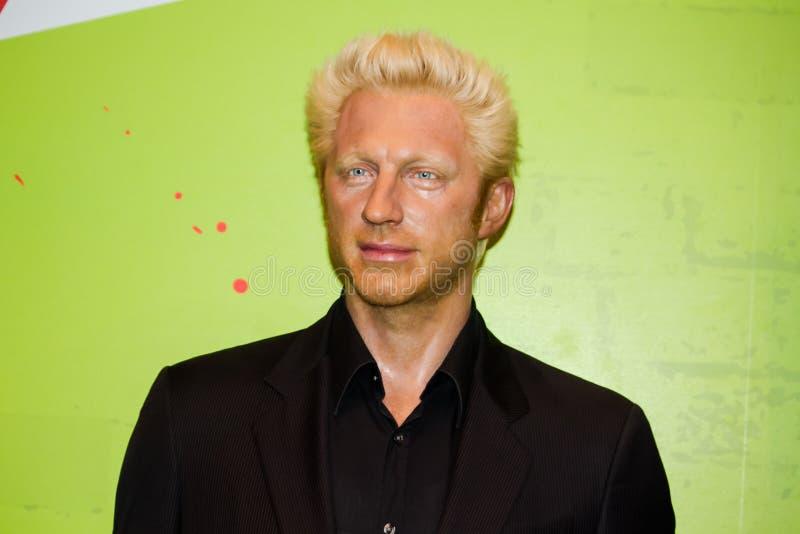 Boris Becker fotografía de archivo