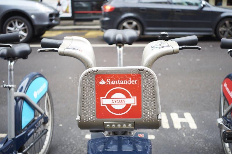 Download Boris bike editorial stock photo. Image of santander - 52350888