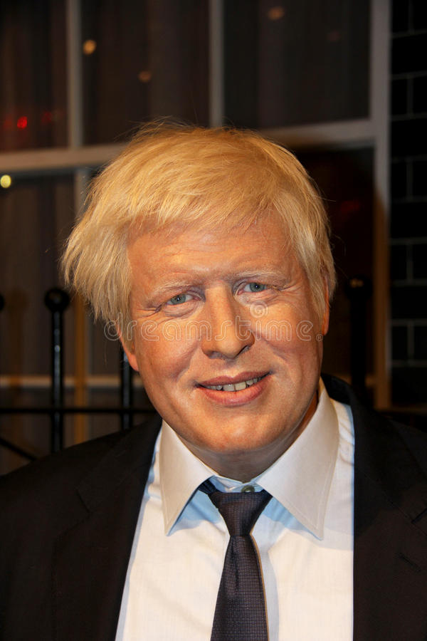 boris johnson royaltyfria foton