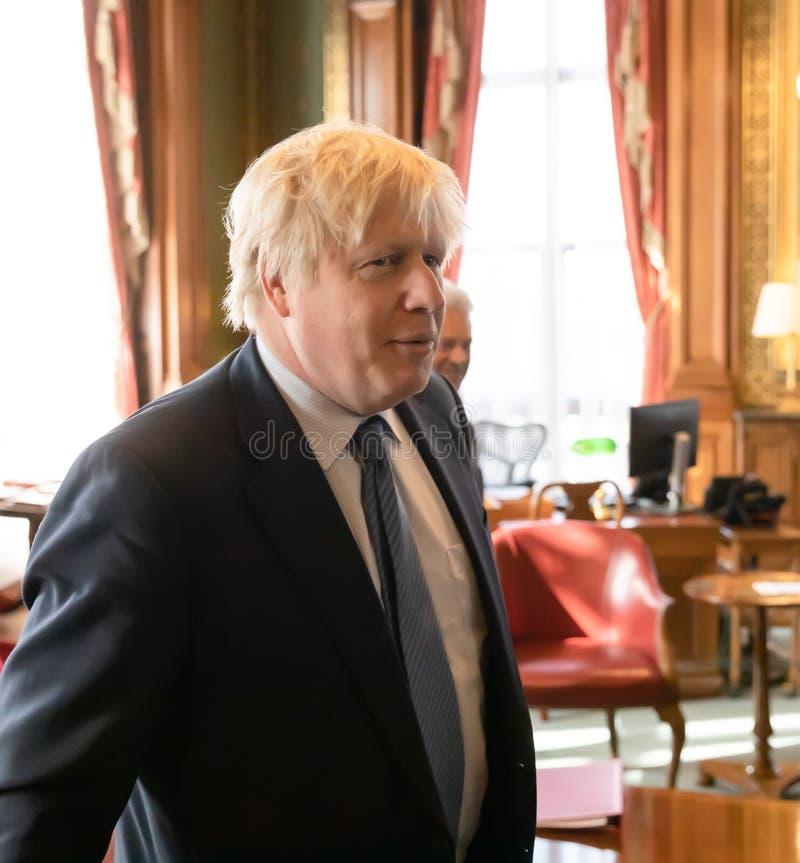 Boris Johnson foto de stock royalty free